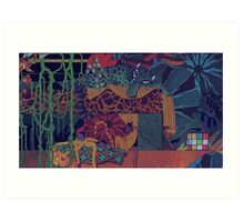 GLASS ANIMALS // JUNGLEBOOK Art Print
