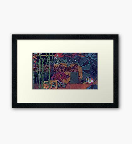 GLASS ANIMALS // JUNGLEBOOK Framed Print