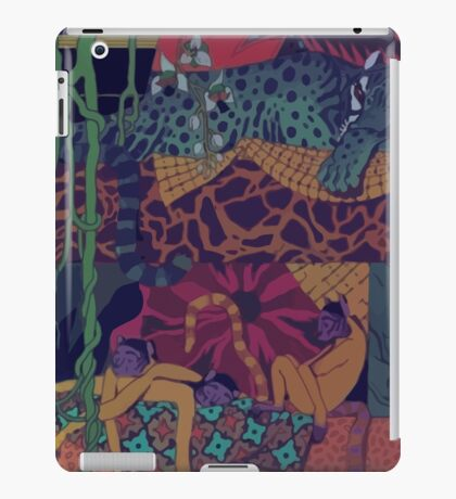 GLASS ANIMALS // JUNGLEBOOK iPad Case/Skin