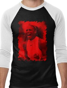 Serena Williams - Celebrity Men's Baseball ¾ T-Shirt