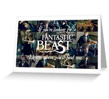 Fantastic Beast Greeting Card