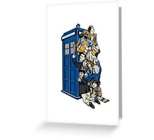 doc's in a box Greeting Card