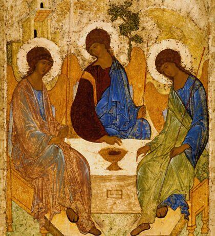 Holy Trinity Icon Christian Religious Wall art Sticker