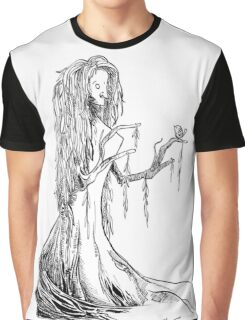 Lady Willow Graphic T-Shirt