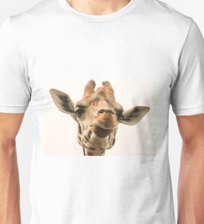 Here's looking at a giraffe Unisex T-Shirt