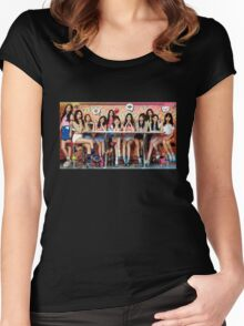 I.O.I kpop Women's Fitted Scoop T-Shirt