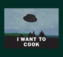 I Want to Cook | Breaking Bad + The X-Files T-Shirt