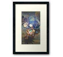 OVERWATCH TRACER Framed Print