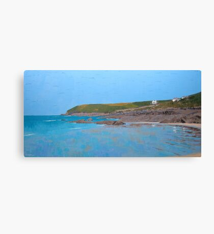 Heat of the Croyde Day Canvas Print