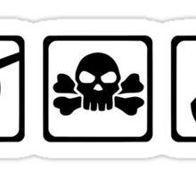 Pirate equipment Sticker
