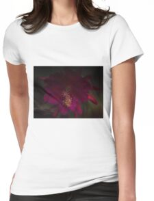 Dreamy Begonia Womens Fitted T-Shirt