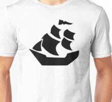 Pirate sail ship boat Unisex T-Shirt