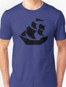 Pirate sail ship boat T-Shirt