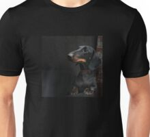 Black Dachshund Unisex T-Shirt