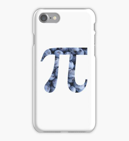 Blueberry Pi iPhone Case/Skin