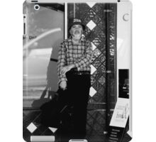 Waiting for the bus iPad Case/Skin