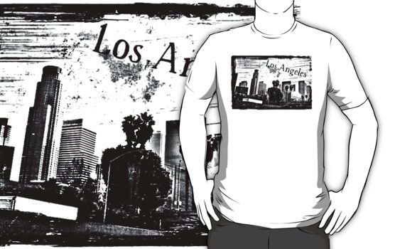 Los Angeles Day by scratchyrock