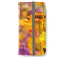 The honey bee and the flowers iPhone Wallet/Case/Skin