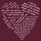 Quotes of the Heart - Hannigraham (White) by fairy911911