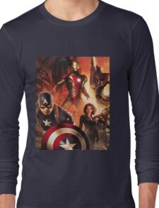 Super heroes Long Sleeve T-Shirt