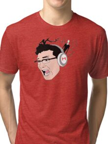 Markiplier and Slendy Fanart Tri-blend T-Shirt