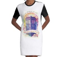 We're all stories (white) Graphic T-Shirt Dress