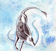 Elemental Water Qilin by anilatac