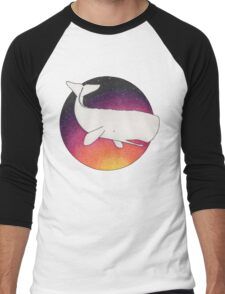 Doomed Whale No. 42 Men's Baseball ¾ T-Shirt