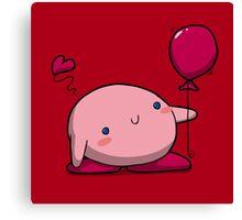 Little Pink Balloon Canvas Print