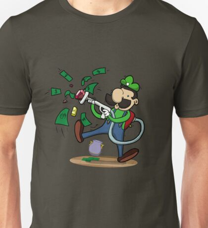 Green Ghost Hunter Unisex T-Shirt