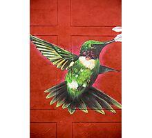 Graffiti and Street art in Bogota Photographic Print