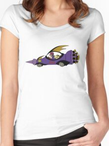 Dick Dastardly and Muttley in the Mean Machine Women's Fitted Scoop T-Shirt