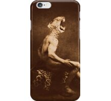 A leopard cannot change his spots iPhone Case/Skin