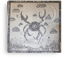 Cyber Crab Canvas Print