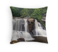 Blackwater Falls, a West Virginia Icon Throw Pillow