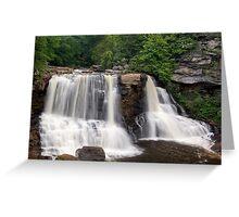 Blackwater Falls, a West Virginia Icon Greeting Card