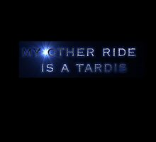 my other ride is a tardis by TheFandomBunker