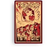 Friendship is Magic Canvas Print