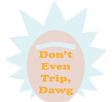 Rick and Morty: Don't Even Trip, Dawg Photographic Print