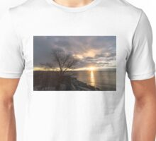 A Slash in the Clouds Just in Time for Sunrise Unisex T-Shirt