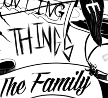 The Family Business Sticker