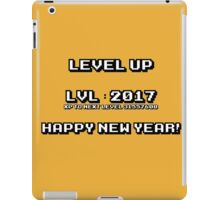 Level Up 2017 Happy New Year! iPad Case/Skin