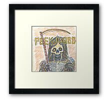 Unexpected Visiter  Framed Print
