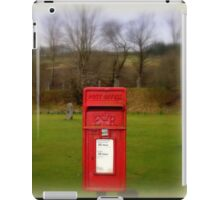 Country Mailbox iPad Case/Skin