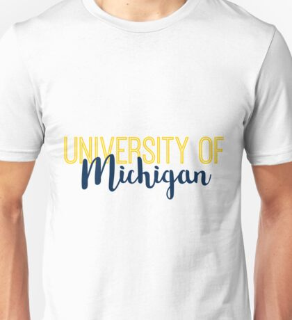 University of Michigan Unisex T-Shirt
