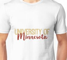University of Minnesota Unisex T-Shirt