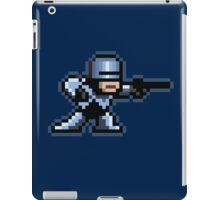 8-Bit Robotic Cop iPad Case/Skin