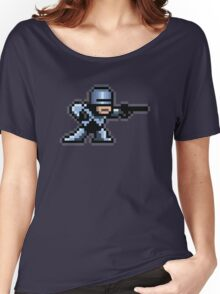 8-Bit Robotic Cop Women's Relaxed Fit T-Shirt