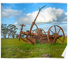Rustic Rural Relic... days gone by Poster