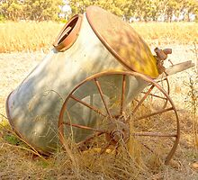 The Old Furphy Water Cart.... by mitpjenkeating